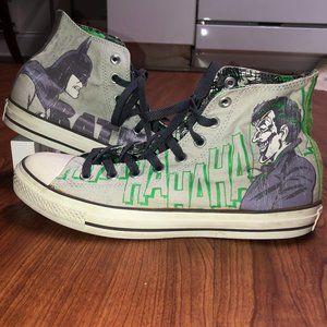 DC Comics Batman & Joker Converse Sneakers